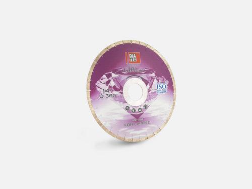 Disk for bridge saw machine for Lapitec slabs cutting