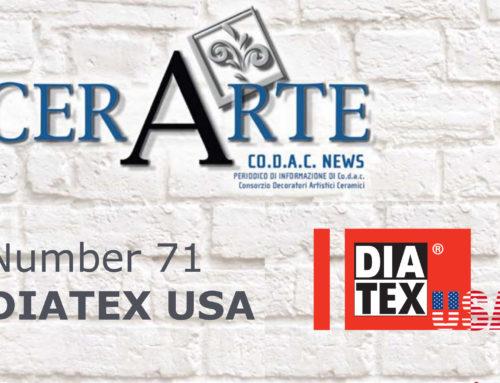 Articolo Cerarte – 71/2018 DIATEX USA